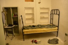 My Sweeney living quarters - by far the biggest room (private) I have had in Afghanistan