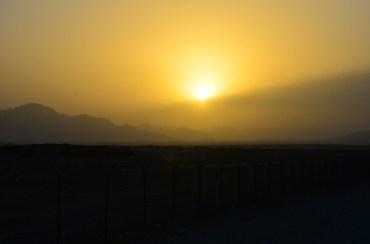 FOB Apache sunset 25 JUN 12
