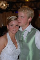 Stephanie & Justin. Justin has always been there for his little sister, but the truth is Steph was always the little mother...