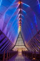 Blue Chapel photo of United States Air Force Academy Colorado by Dan Bourque