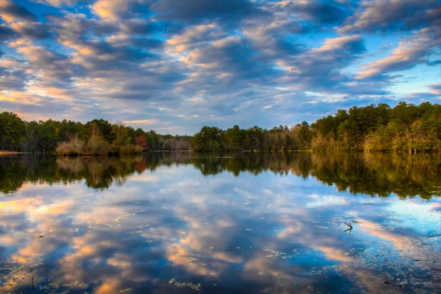 Sesquicentennial Reflections landscape photo by Dan Bourque