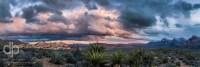 Desert Contrast landscape panorama by Dan Bourque