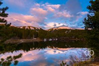 First Light on Breckenridge Colorado landscape photo by Dan Bourque