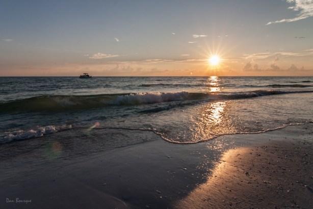 Idyllic Evening at the Beach