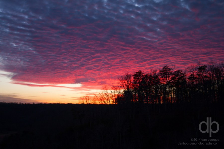 Kentucky Sky Painted Pink landscape photo by Dan Bourque