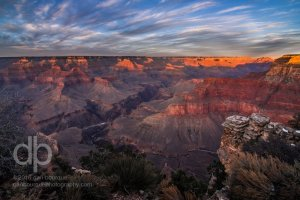 Last Light in the Canyon landscape photo by Dan Bourque