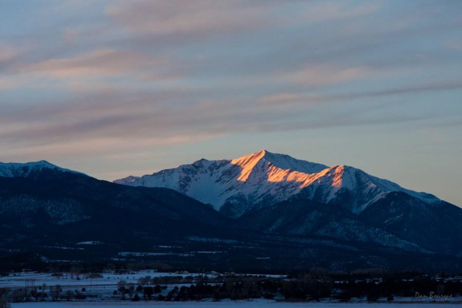 Last Light on Priceton landscape photo of Colorado by Dan Bourque
