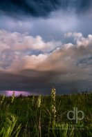 Midnight Storm Approaching landscape photo by Dan Bourque
