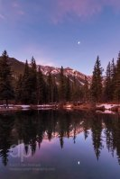 Moon Through the Looking Glass landscape photo by Dan Bourque
