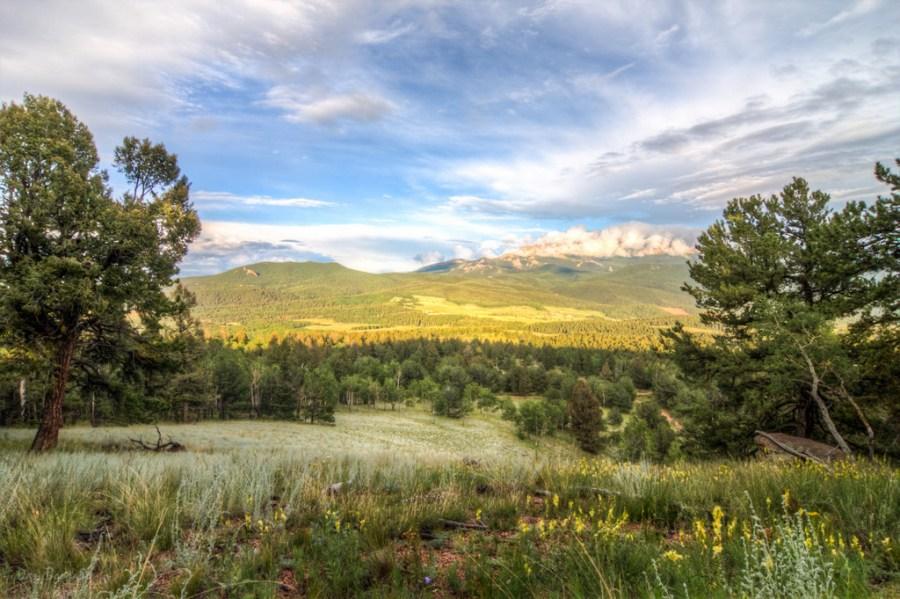 Pikes Peak after a Storm landscape photo of Mueller State Park Colorado by Dan Bourque
