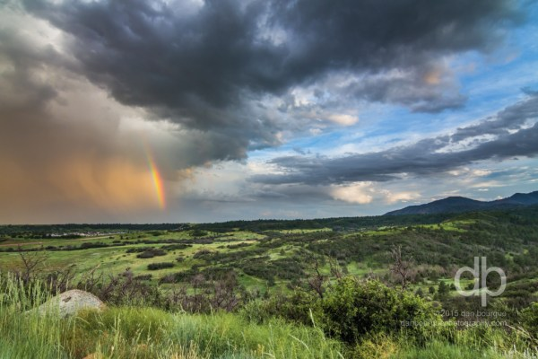 Promise of the Parting Storm landscape photo by Dan Bourque