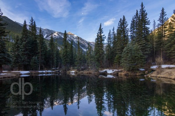 Rocky Mountain Oasis landscape photo by Dan Bourque