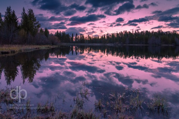 Sunrise on Sawmill Reservoir Colorado landscape photo by Dan Bourque