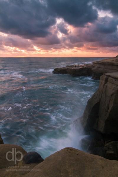 Sunset Cliffs landscape photo by Dan Bourque