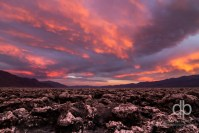 Surreal Skies over Death Valley landscape photo by Dan Bourque