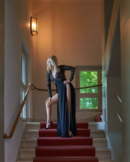 On the stairs 01
