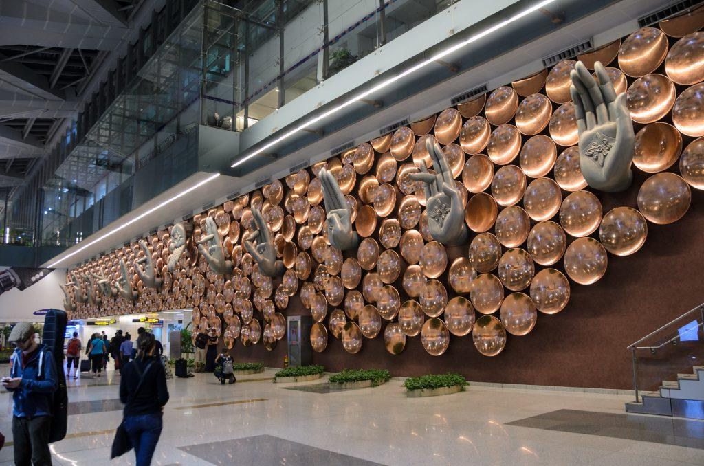 New Delhi - In aeroport