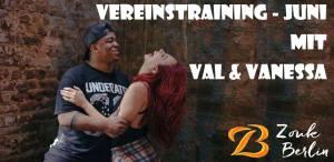 Vereinstraining mit Vanessa und Val @ La Mambita