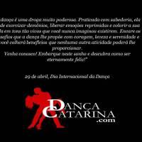 Hoje é Dia Internacional da Dança!!! Salve, 29 de abril!!