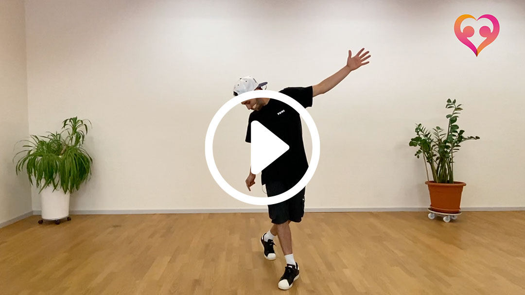 breakdance beginner 1 toni 01 - Breakdance-Tanzvideos