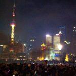 上海市新年カウントダウン(花火ビデオ)