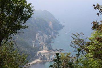 下北半島 仏ヶ浦の奇岩