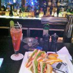 Thai CROWN PLAZA HOTEL club sandwich