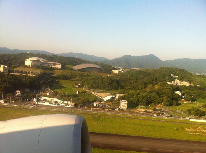福岡空港離陸1