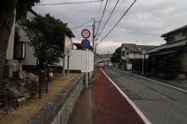 日子神社から田代宿方面