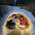 九州で「かまくら」体験
