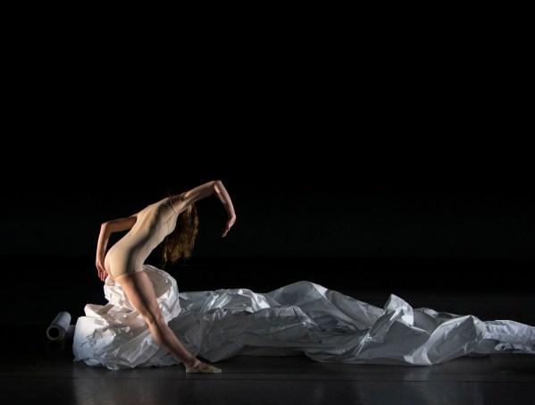Dancer, Anna Patsfall. Photo by Meagan Helman.