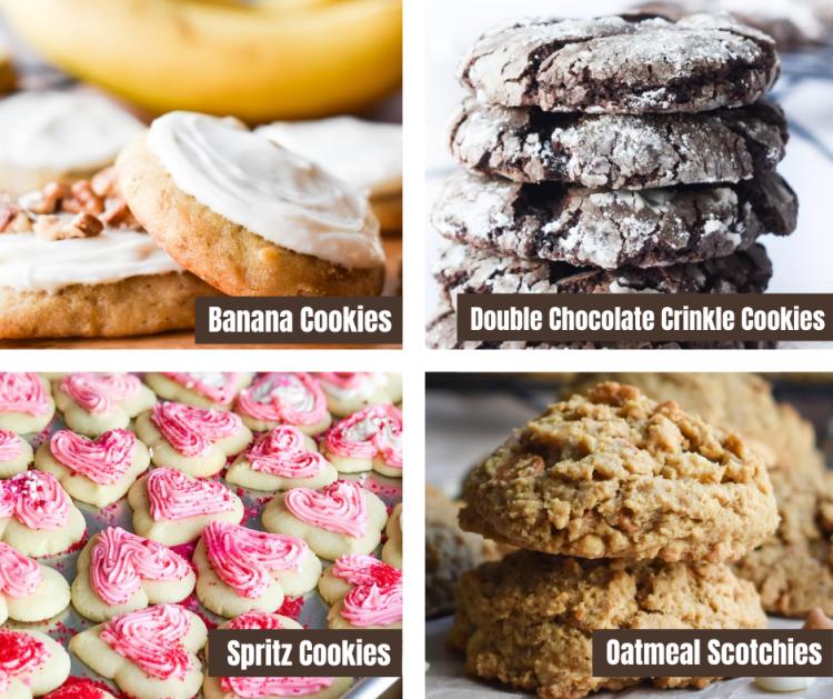 Various Cookie Flavors