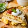 Sheet Pan Breakfast Quesadillas
