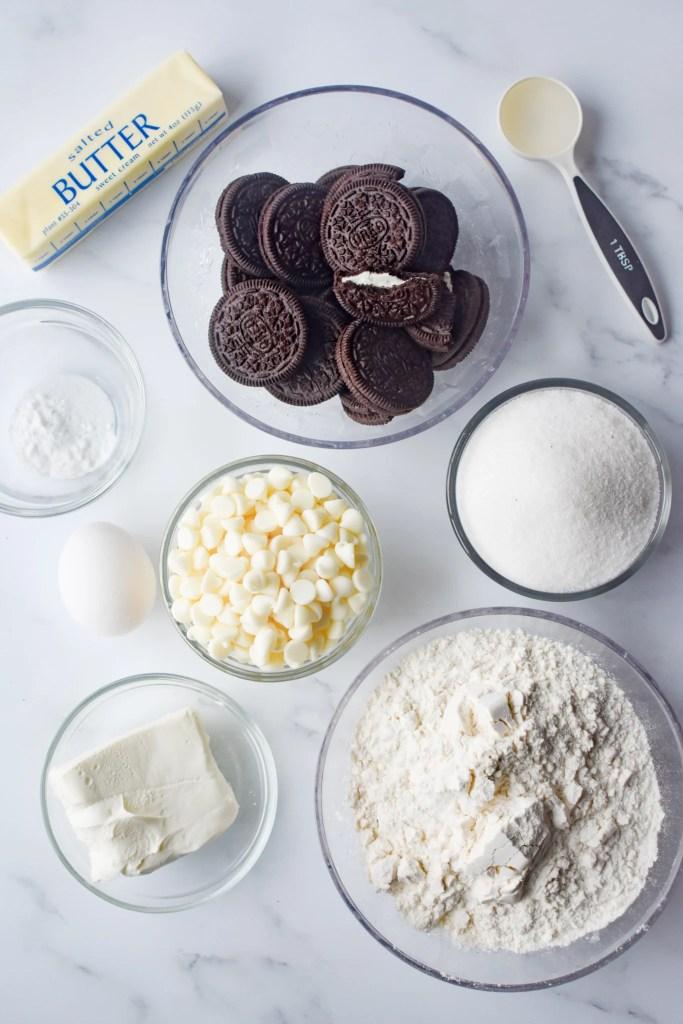Cookies & Cream Cookie ingredients