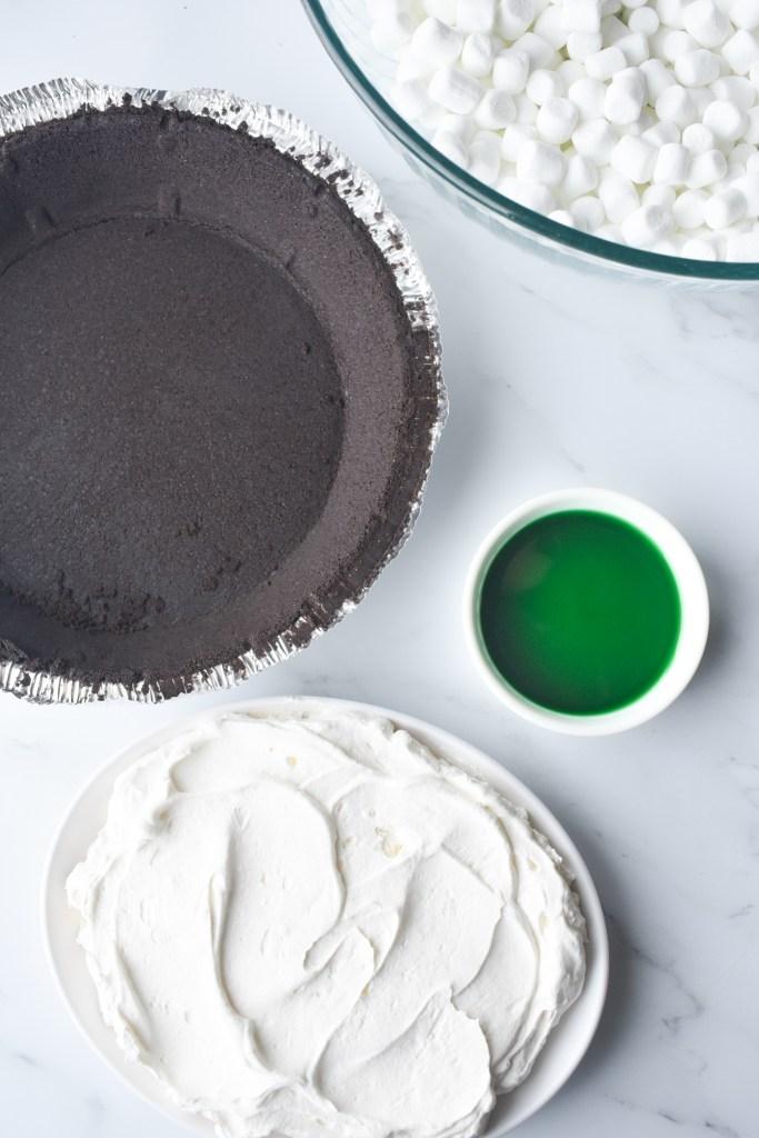 Grasshopper Pie ingredients