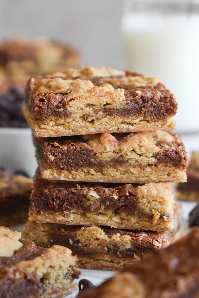 stack of chocolate revel bars