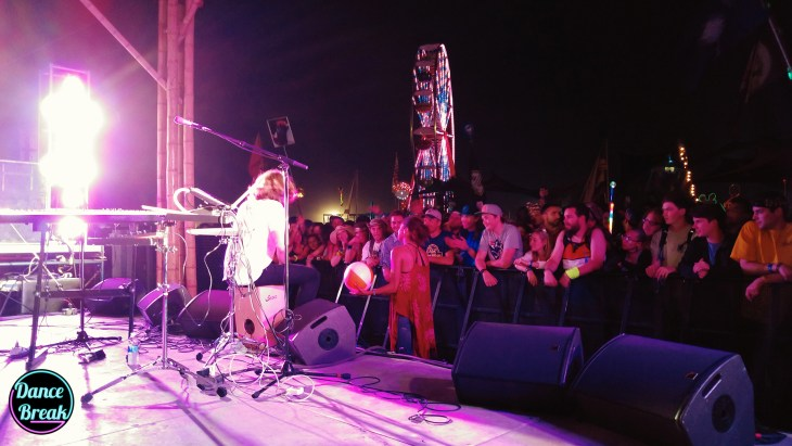 Big Wild Performs on Cajón