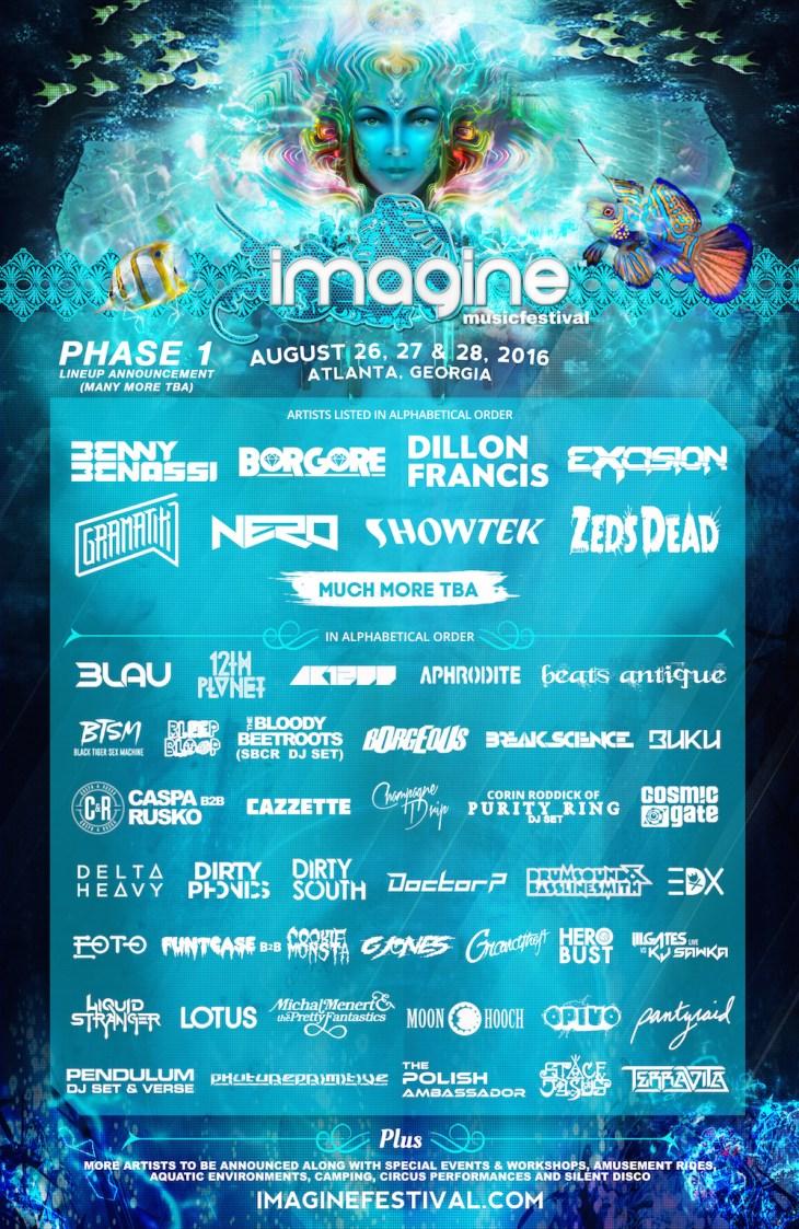 Imagine Music Festival Logo