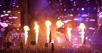 Imagine Music Festival 2016 Mainstage Pyrotechnics