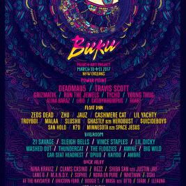 BUKU Music + Art 2017 Lineup
