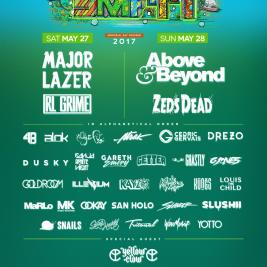 Sunset Music Festival 2017 Lineup