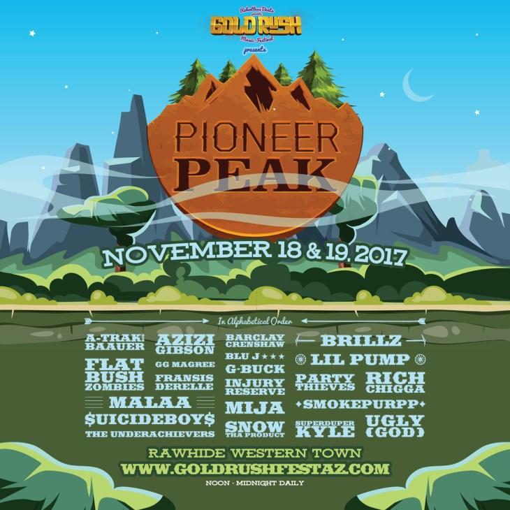 Pioneer Peak - Goldrush 2017
