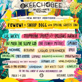 Okeechobee 2018 Lineup