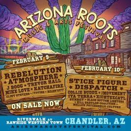 AZ Roots 2019 Daily Lineup