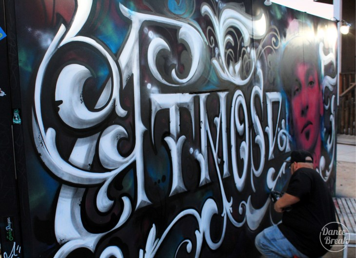 Graffiti Art Installation at AZ Roots Festival 2019