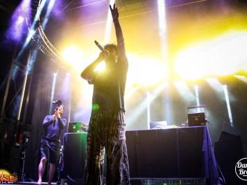 MC Apollo Sevant at ARISE Music Festival 2019, photo by Carlie Bradley