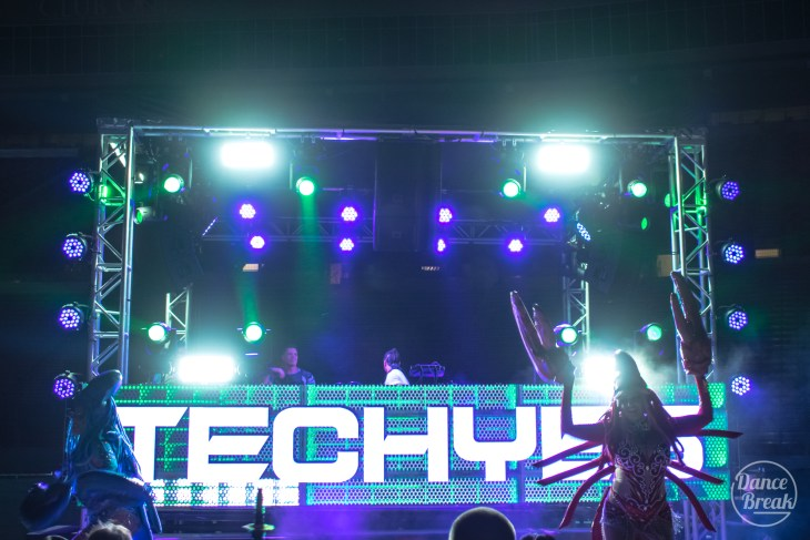 Techyes Stage at Imagine 2019