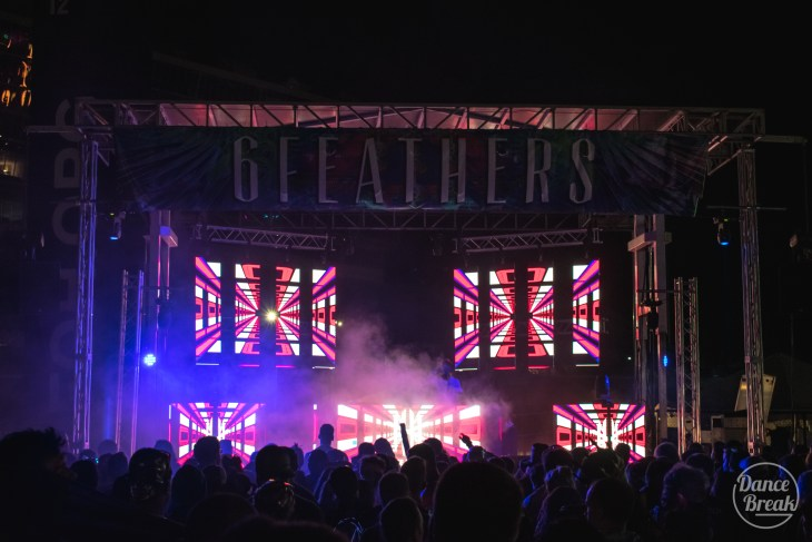 6 Feathers Stage at Imagine 2019