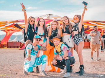 Fans at Phoenix Lights 2019, Photo by luiscolato.com