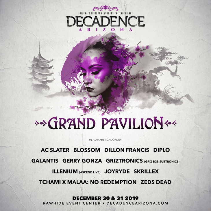 Decadence AZ 2019 Grand Pavilion
